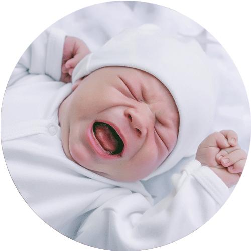 Urolige og utrøstelige babyer
